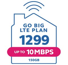 Globe At Home Plan 1299 LTE Go Big