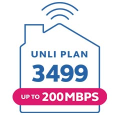 Globe At Home Go Unli Plan 3499