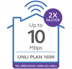 Broadband Plan 1699 Go Unli