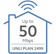 Globe At Home Plan 2499 Go Unli