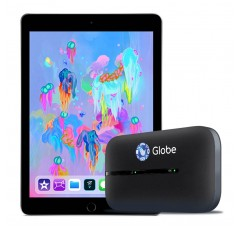 iPad Wifi 32 GB (6th Generation) with Globe LTE Mobile WiFi