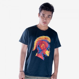 Captain Marvel Helmet Shirt - Men