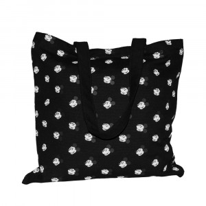 disney mickey mouse face all over tote bag globe online shop