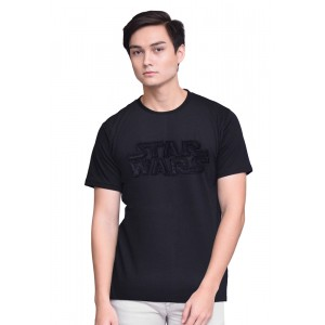 Star Wars Round Neck Tee with Logo