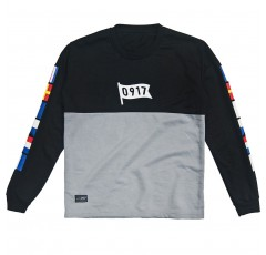 0917 Lifestyle Flag Long Sleeve Shirt