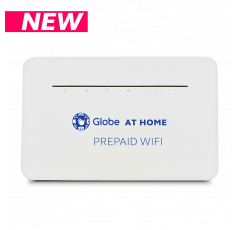 Globe At Home Prepaid WiFi - LTE Advanced