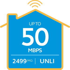 Broadband Plan 2499 Go Unli