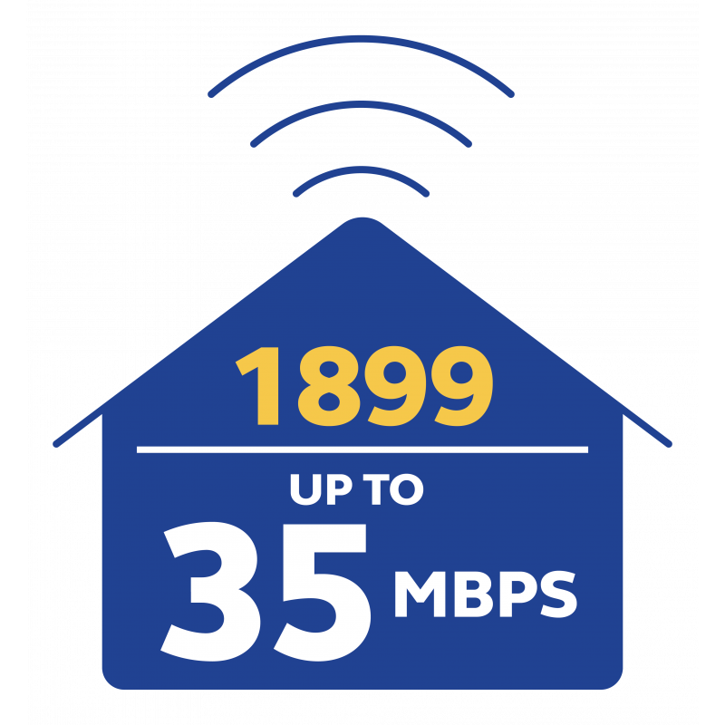 Globe At Home Unli Plan 1899 for HPW Users