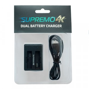 Supremo Dual Battery Charger