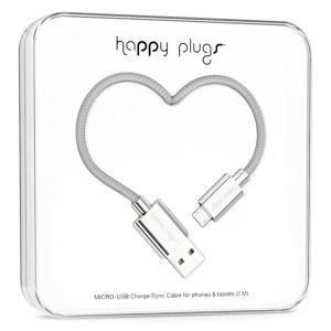 Happy Plugs Micro USB Cable