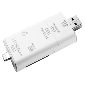 I-Flash Drive HD 3-in-1 Storage Device