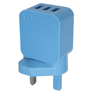 Ye!! 3-USB port Charger