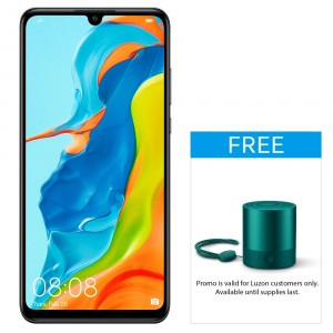 Huawei P30 Lite-Midnight Black-Front