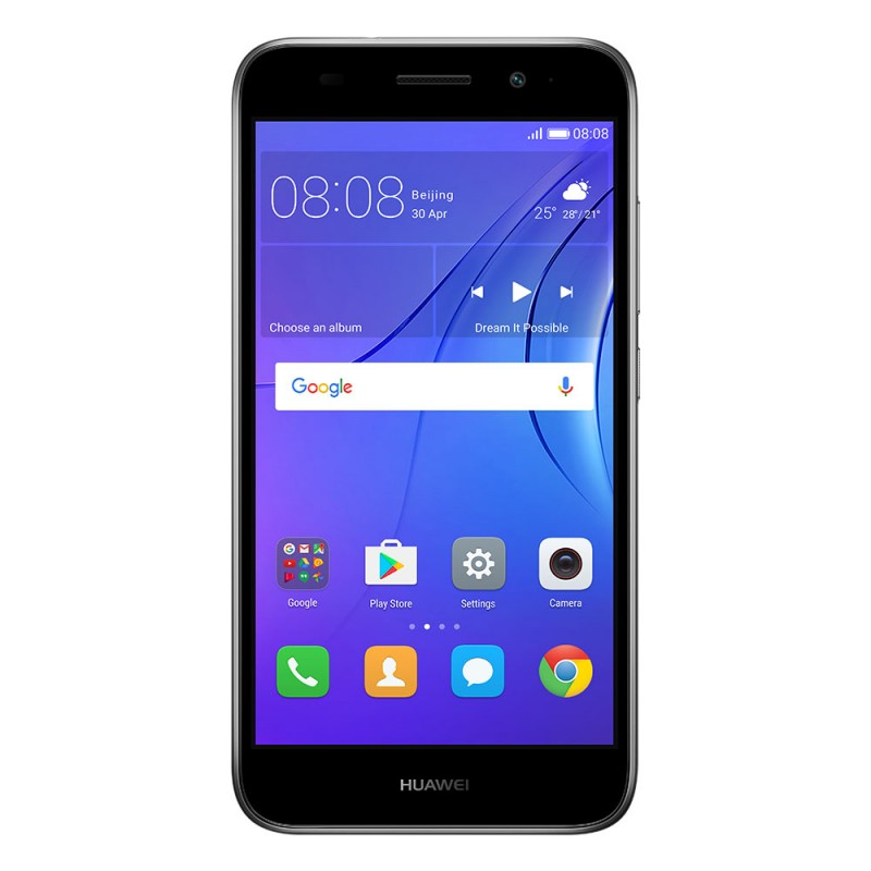 Huawei Y3 2018 - Gray - Front