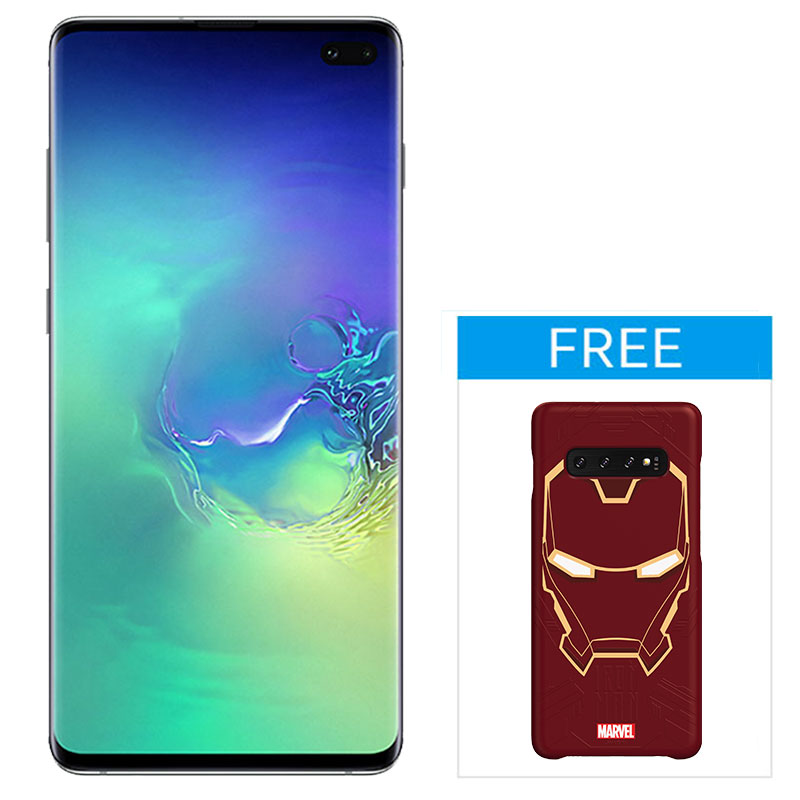 Samsung Galaxy S10+ - Prism Green - Front