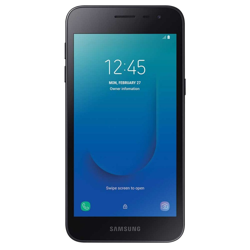 Samsung Galaxy J2 Core - Black - Front