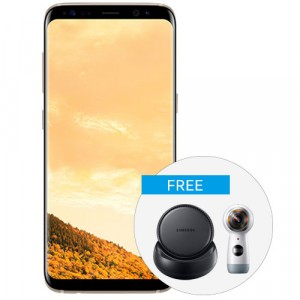 Samsung Galaxy S8+ with DeX and Gear 360