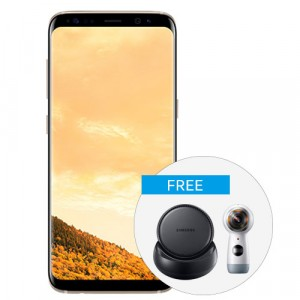 Samsung Galaxy S8 with DeX and Gear 360