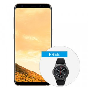 Samsung Galaxy S8 with Gear S3