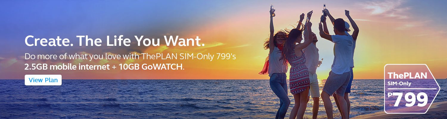 Do more of what you love with ThePLAN SIM-Only 799's