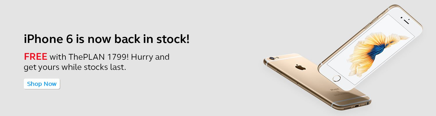 iPhone 6 is now back in stock