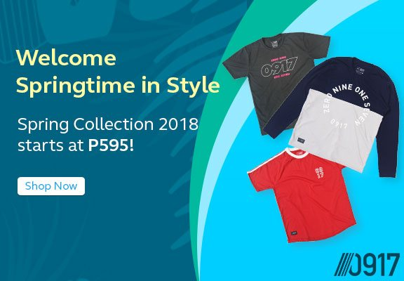Spring Collection 2018  starts at P595!
