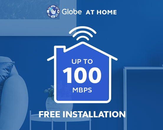 Get FREE installation worth P1000 on your Go UNLI Plan from September 14-21, 2019!