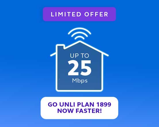 Experience Fast and Unlimited Fiber Internet with Globe