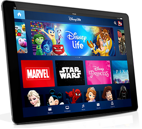 DisneyLife Tablet