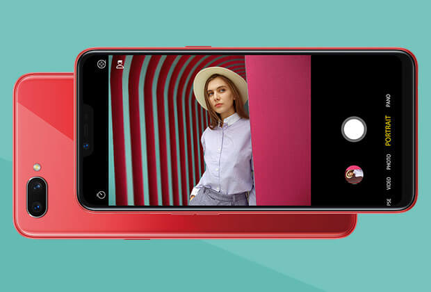 Oppo A3s smart dual-lens