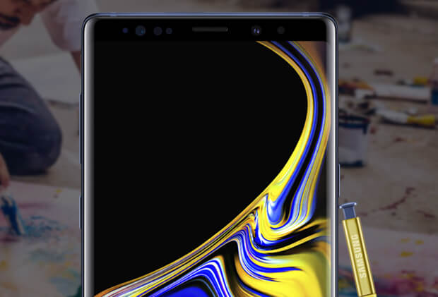Samsung Galaxy Note9 become a creative