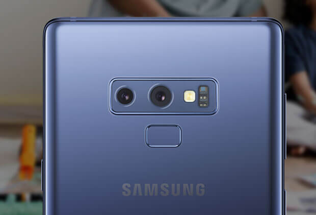 Samsung Galaxy Note9 find beauty