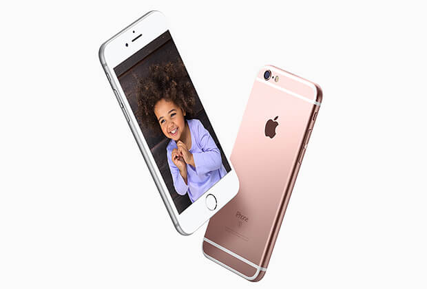 iPhone 6s Plus rose gold color