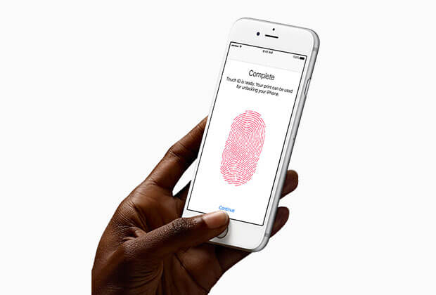 iPhone 6s Plus touch ID