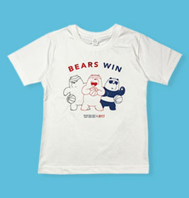 0917 We Bare Bears White Shirt