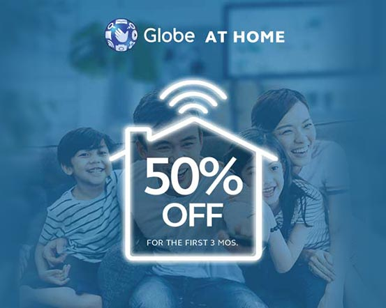 Switch to Globe at Home